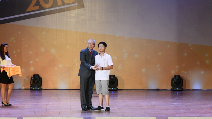 14. Academic Champion English-Liu Yu - Y5A