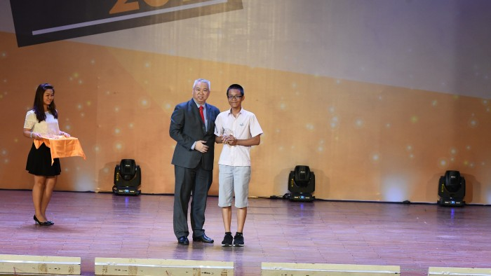17. Academic Champion English-Nguyen Gia Hung - Y7 Integrated
