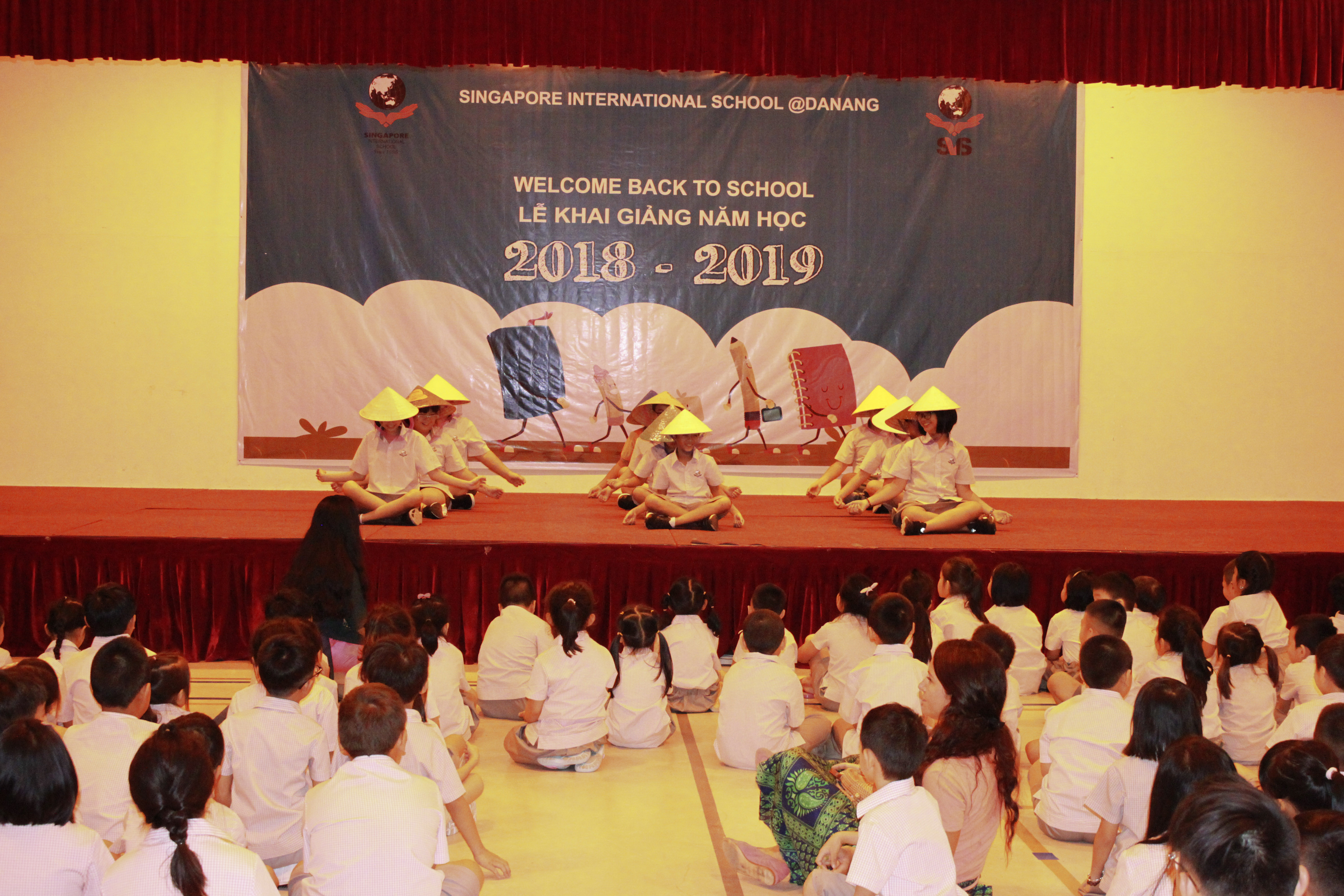 Welcome to the New School Year 2018 – 2019 at SIS@Danang