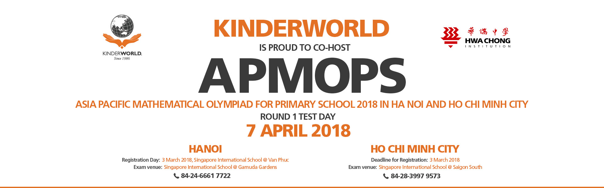 The Asia Pacific Mathematical Olympiad For Primary Schools (Apmops