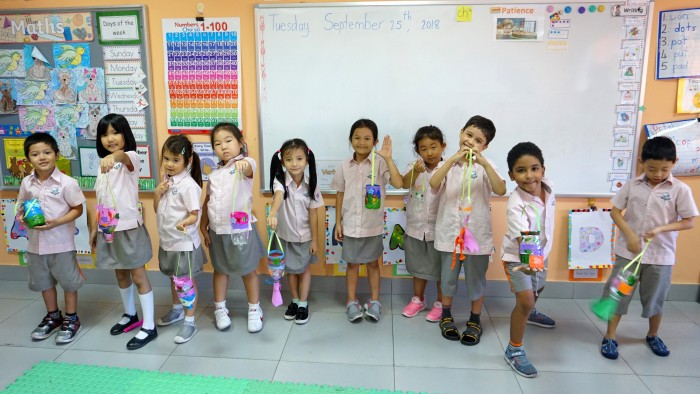 Yr 1 International – best use of recycled materials