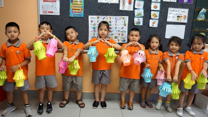 Yr 1B Integrated – most colourful