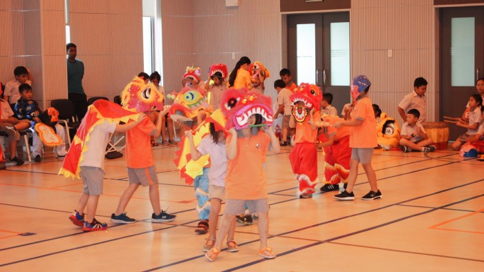Secondary students had their own Lion Dance competition (13)