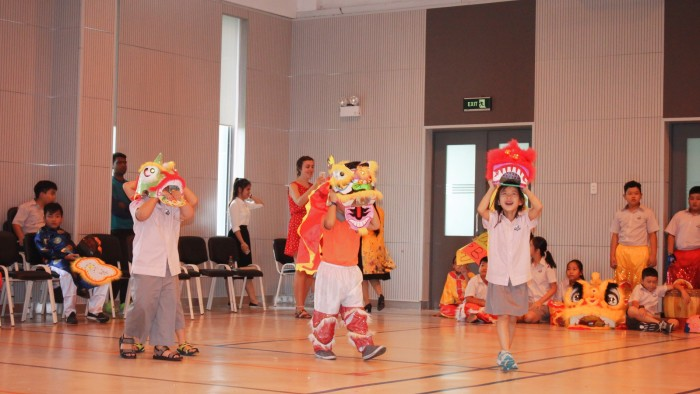 Secondary students had their own Lion Dance competition (15)