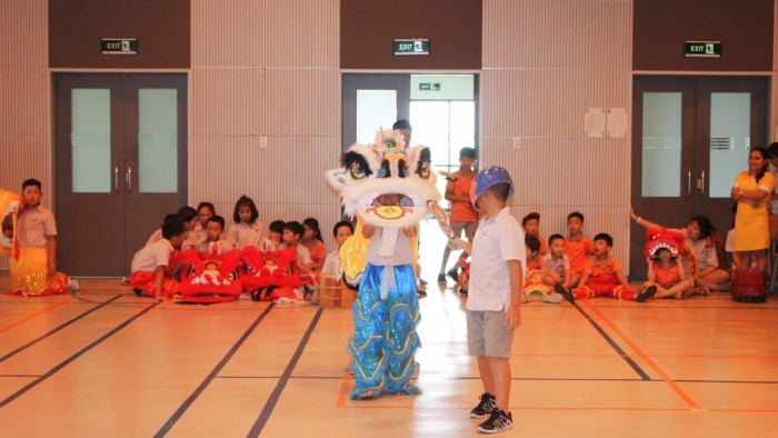 Secondary students had their own Lion Dance competition (17)