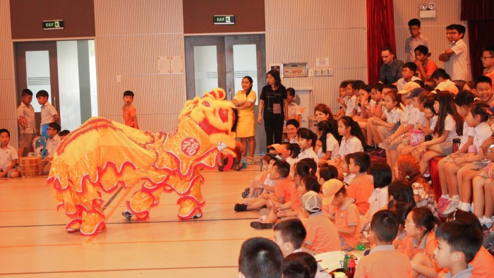 Secondary students had their own Lion Dance competition (3)