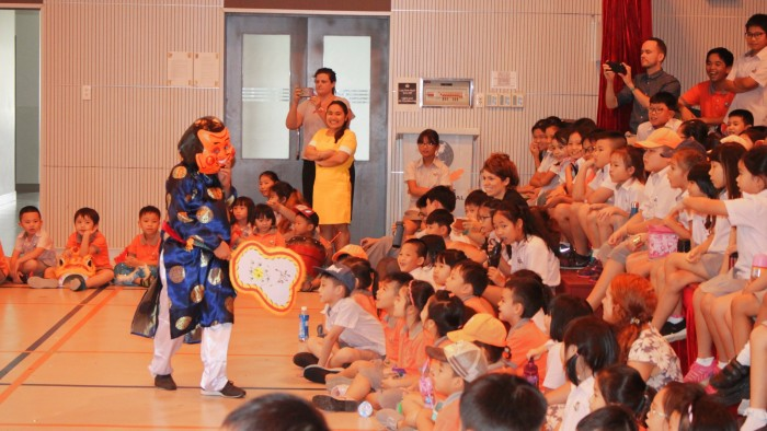 Secondary students had their own Lion Dance competition (4)