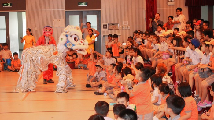 Secondary students had their own Lion Dance competition (5)