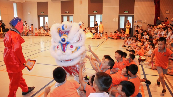 Secondary students had their own Lion Dance competition (6)