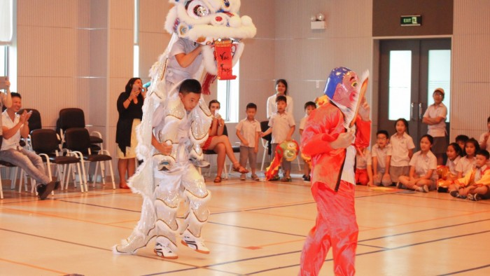 Secondary students had their own Lion Dance competition (7)