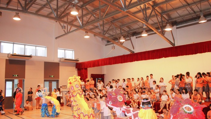 Secondary students had their own Lion Dance competition (8)