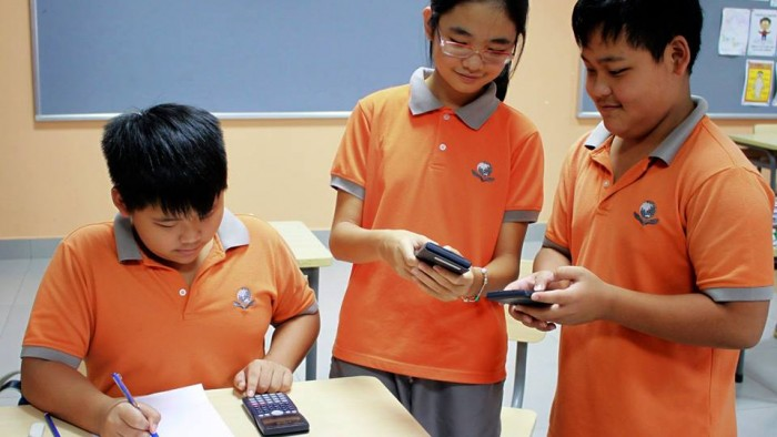 Students love using technology (1)